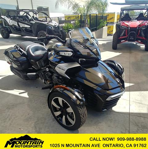 2016 Can-Am Spyder F3-T SE6 w/ Audio System in Ontario, California