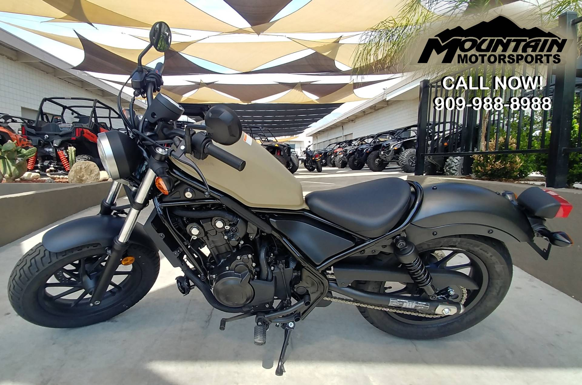 2019 Honda Rebel 500 in Ontario, California - Photo 2