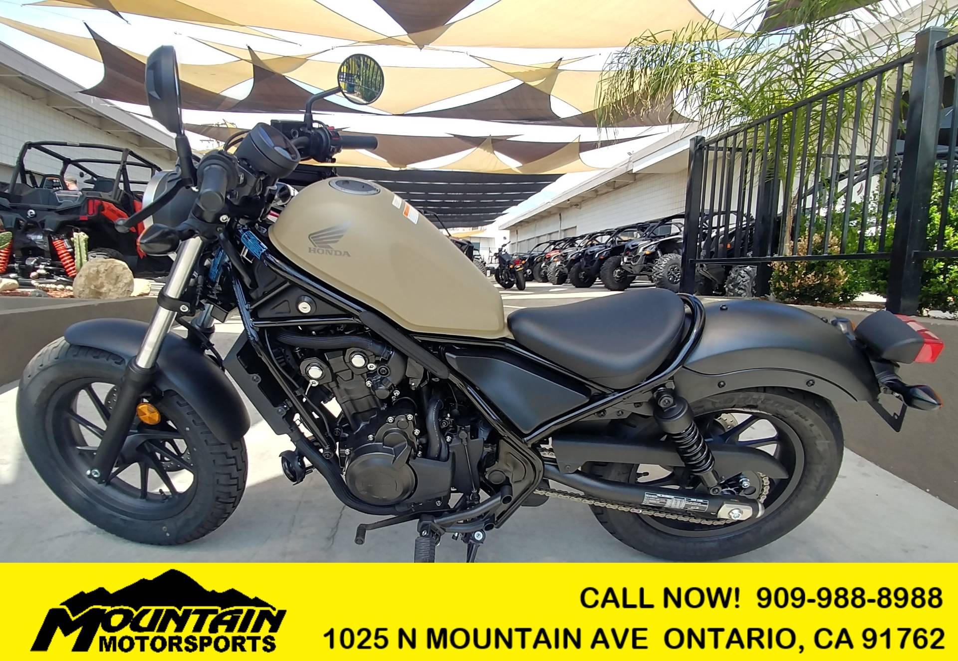 2019 Honda Rebel 500 in Ontario, California - Photo 1