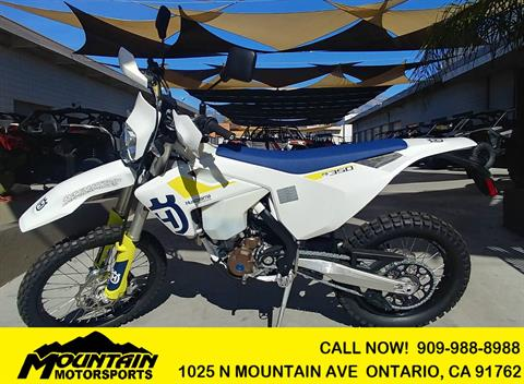 2019 Husqvarna FE 350 in Ontario, California