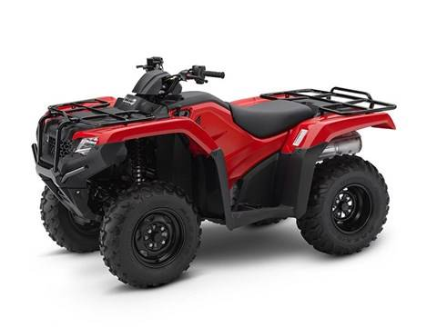 2017 Honda FourTrax Rancher 4x4 DCT EPS in Ontario, California
