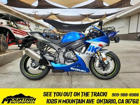 2021 Suzuki GSX-R750 100th Anniversary Edition in Ontario, California - Photo 1