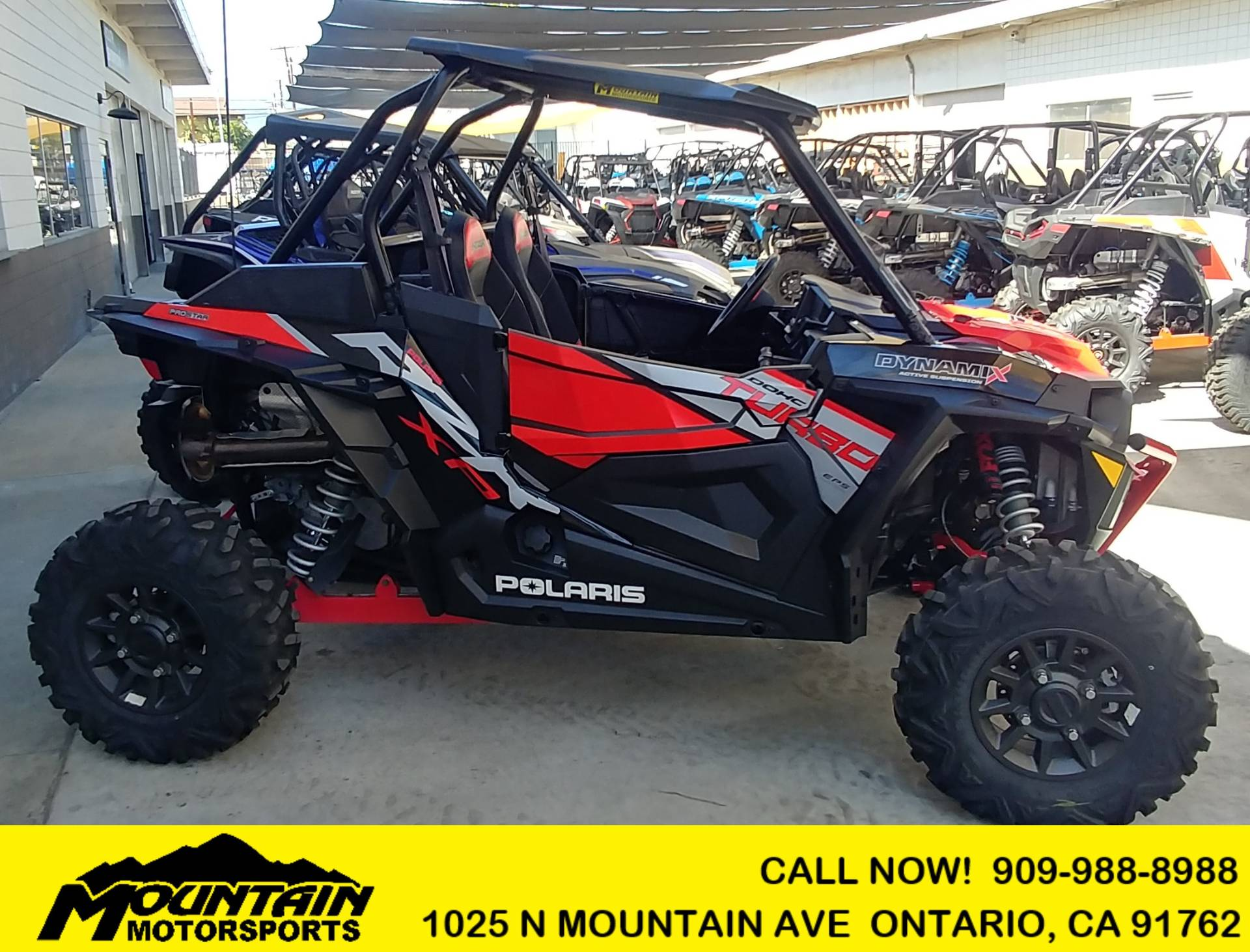 2018 Polaris RZR XP Turbo EPS Dynamix Edition in Ontario, California - Photo 1