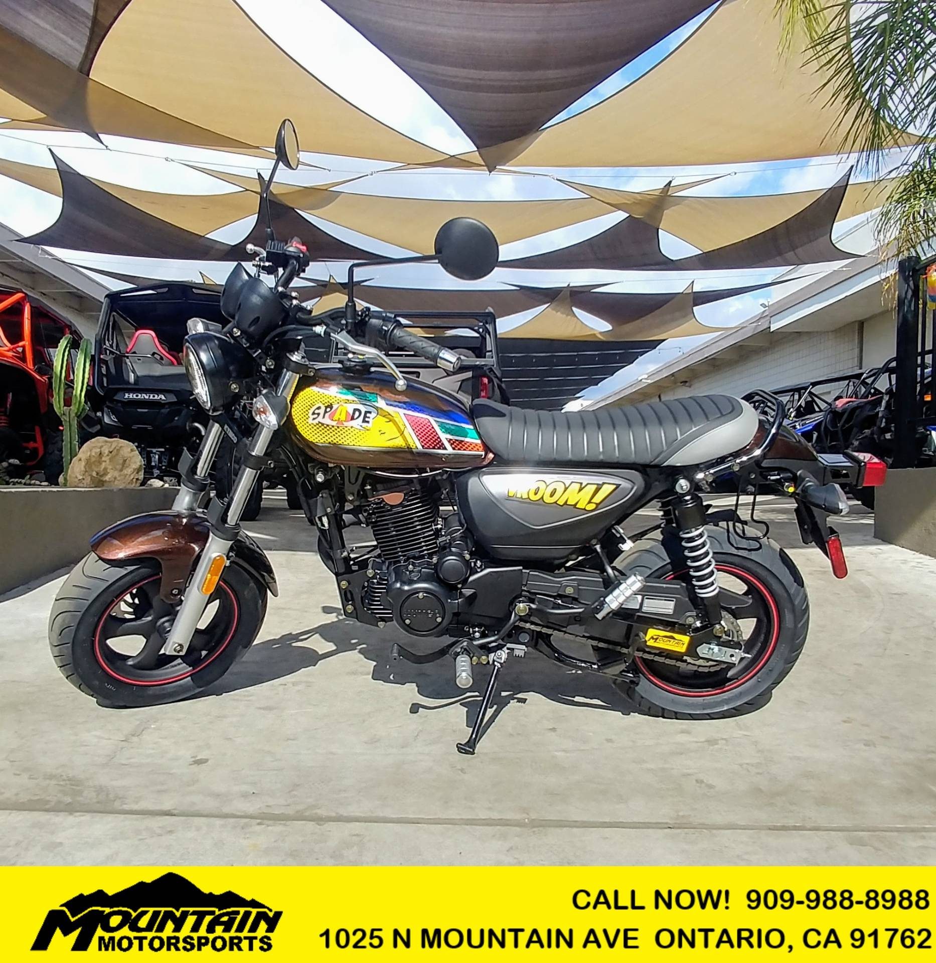 2020 Kymco Spade 150i Limited Edition in Ontario, California - Photo 1