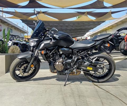2019 Yamaha MT-07 in Ontario, California - Photo 2
