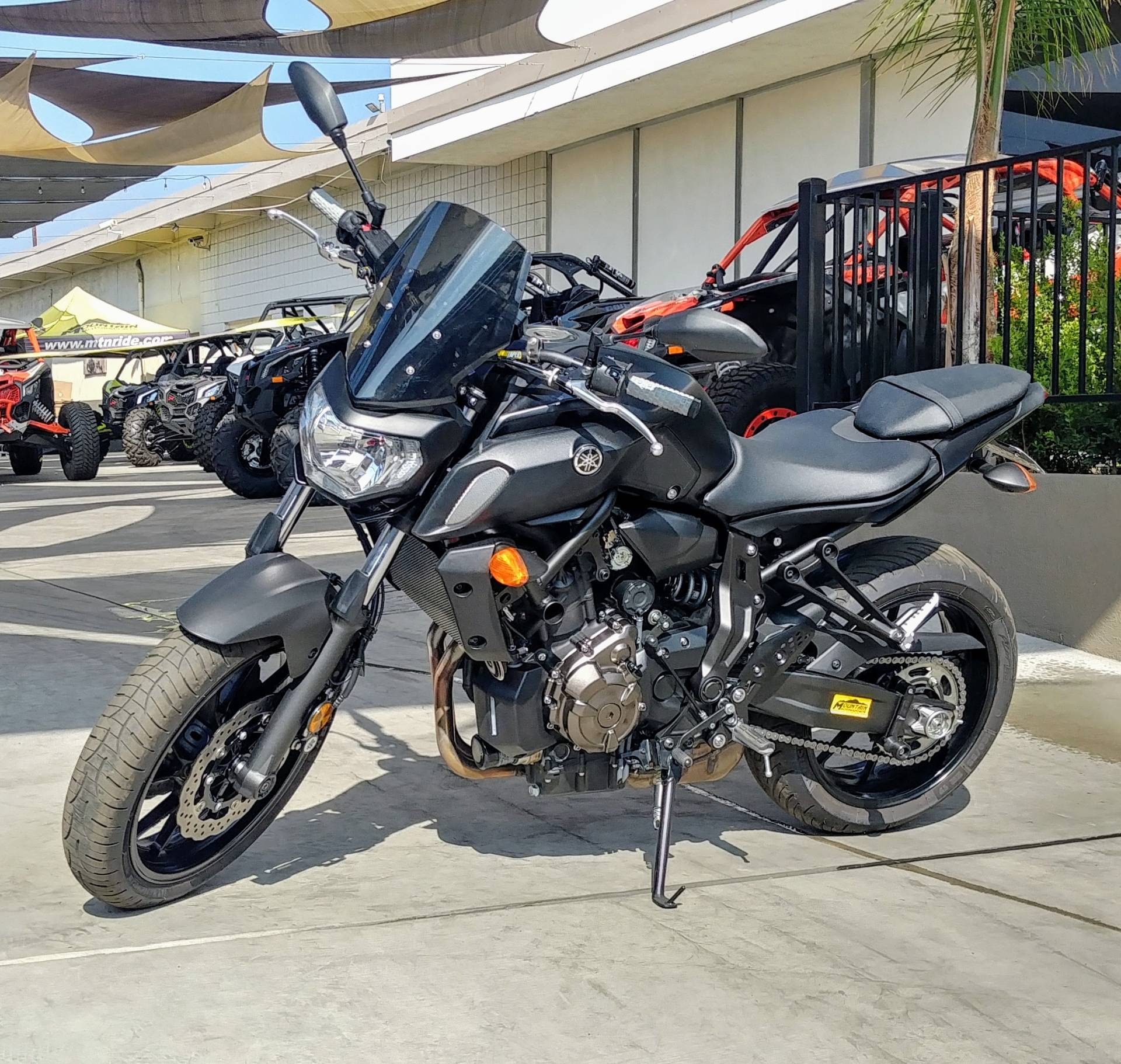 2019 Yamaha MT-07 in Ontario, California - Photo 3
