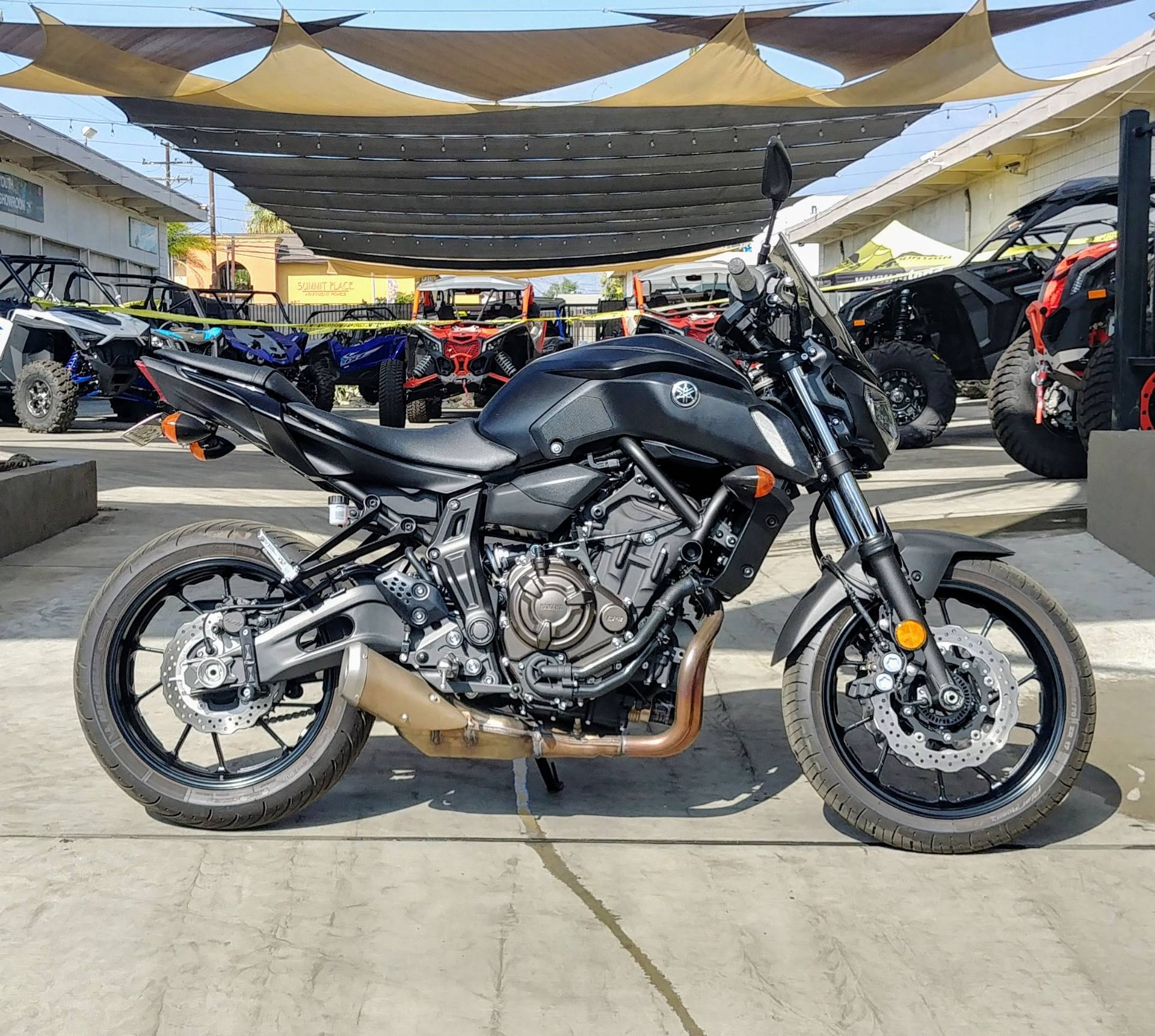 2019 Yamaha MT-07 in Ontario, California - Photo 6