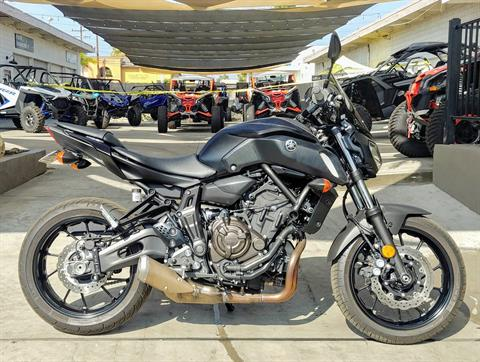 2019 Yamaha MT-07 in Ontario, California - Photo 7