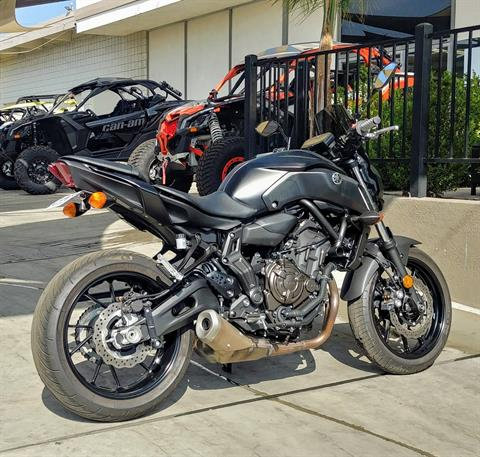 2019 Yamaha MT-07 in Ontario, California - Photo 9