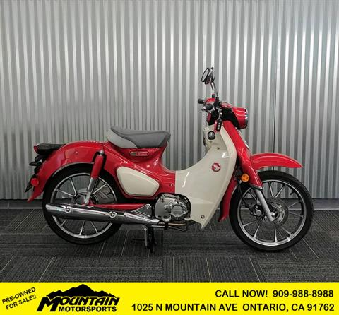 2020 Honda Super Cub C125 ABS in Ontario, California - Photo 1