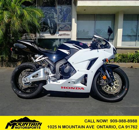 2016 Honda CBR600RR in Ontario, California