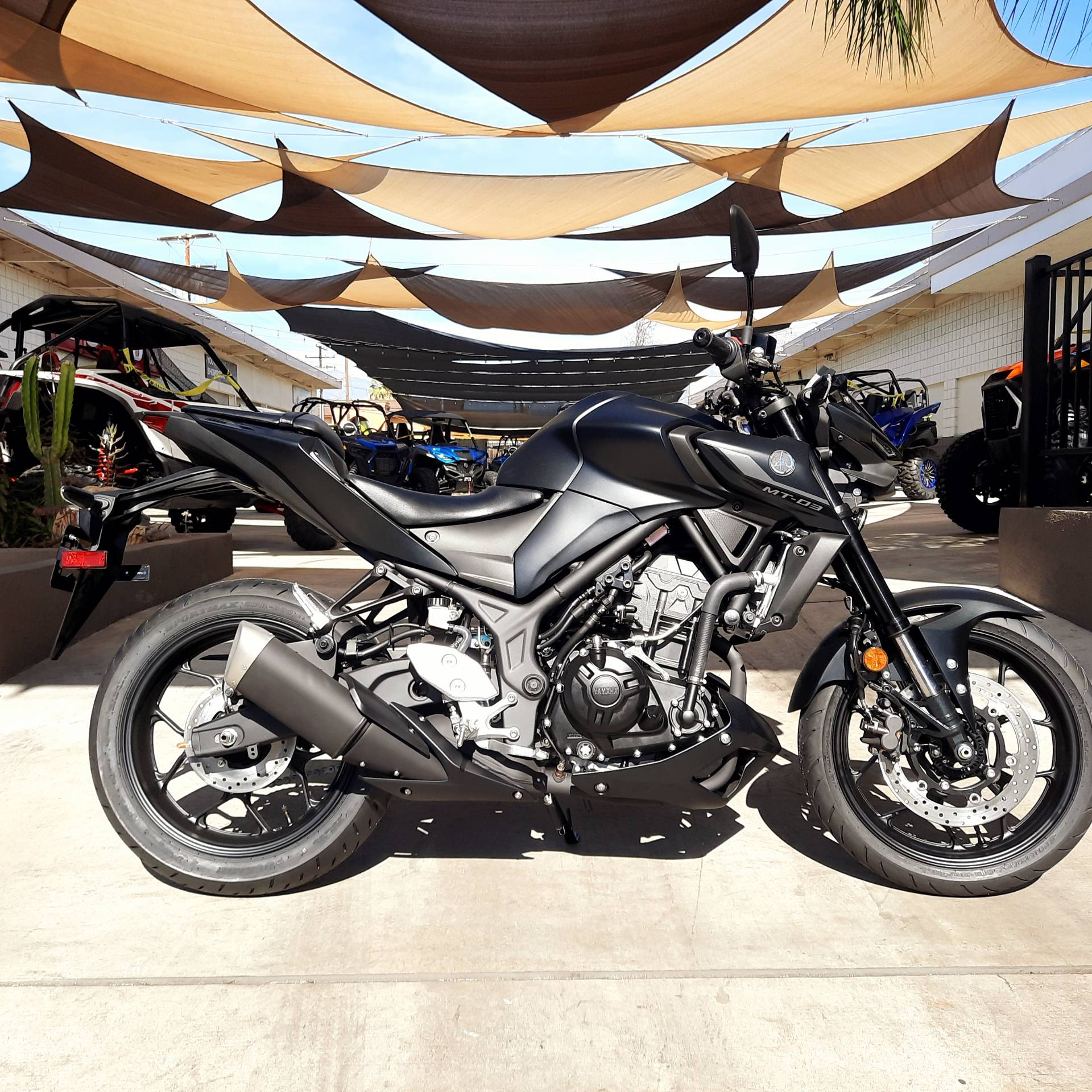 2021 Yamaha MT-03 in Ontario, California - Photo 5