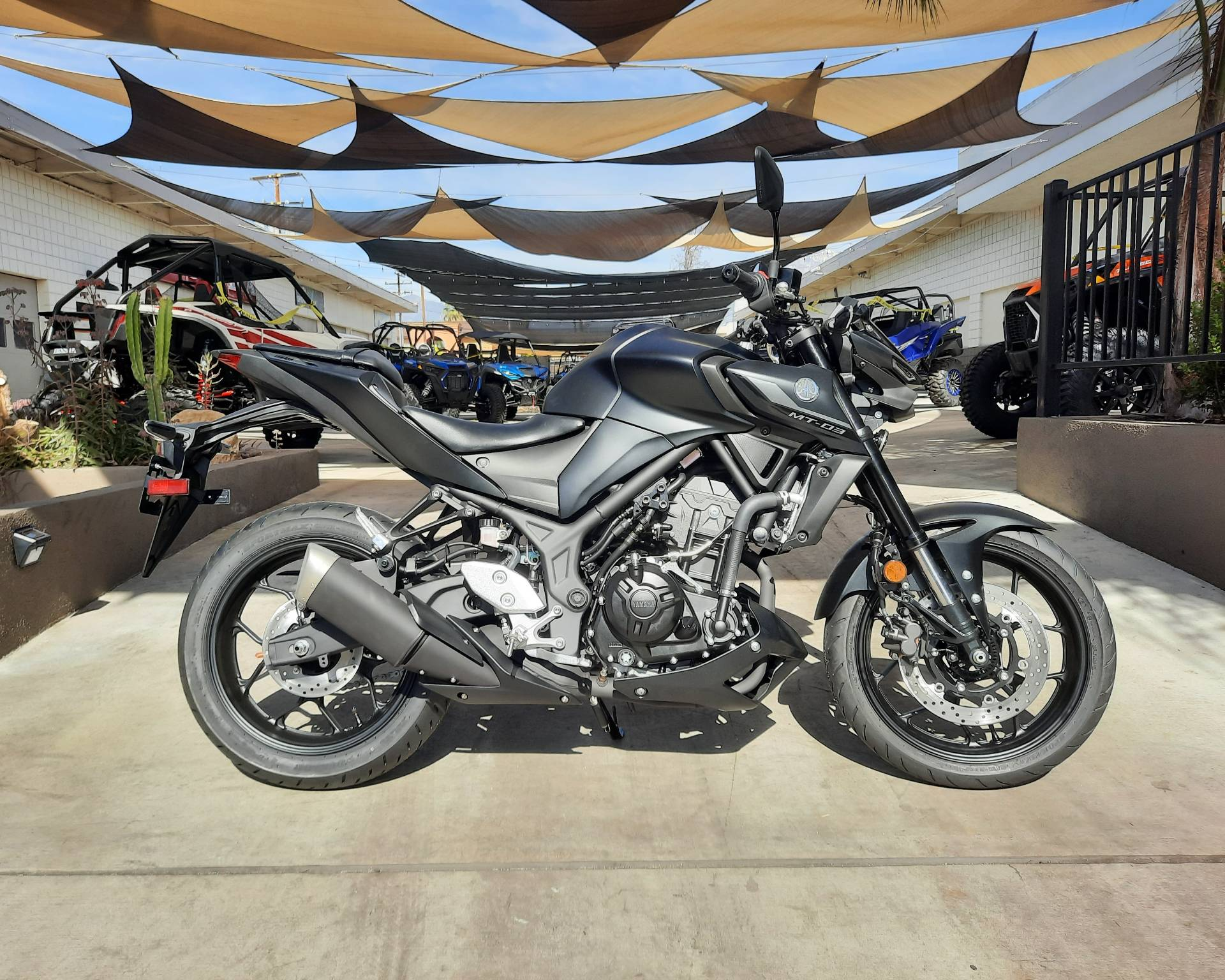 2021 Yamaha MT-03 in Ontario, California - Photo 6