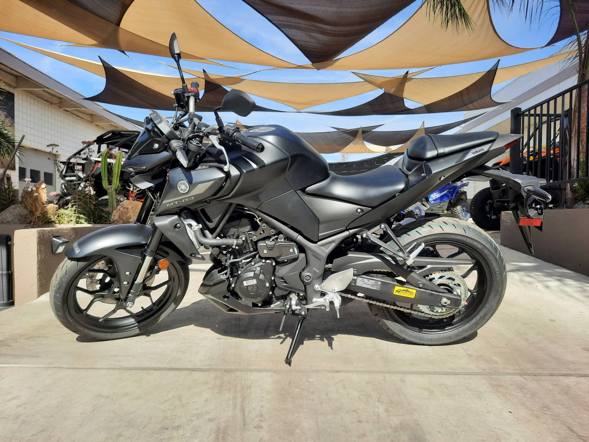 2021 Yamaha MT-03 in Ontario, California - Photo 12