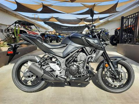 2021 Yamaha MT-03 in Ontario, California - Photo 3