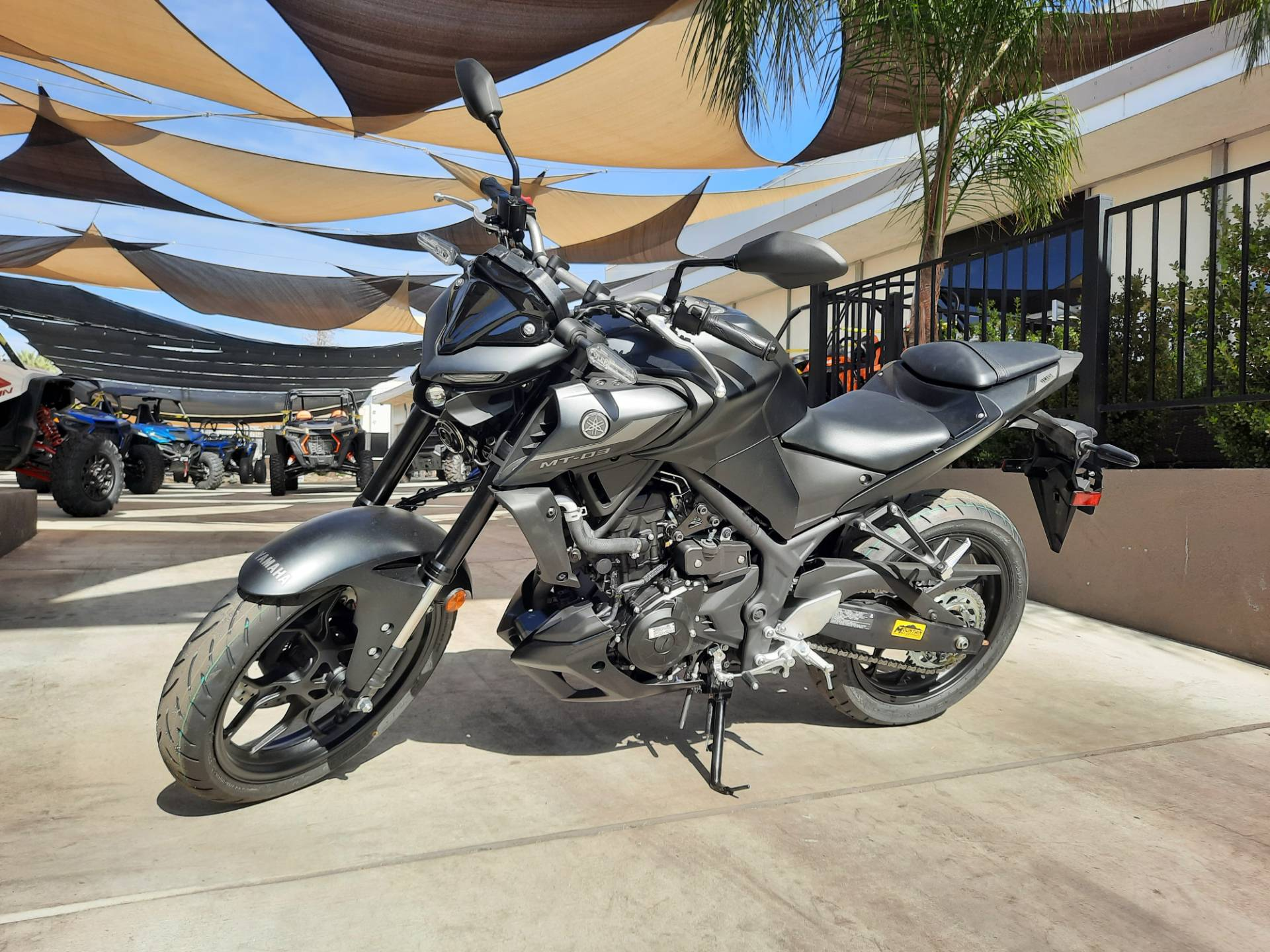 2021 Yamaha MT-03 in Ontario, California - Photo 9