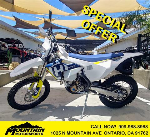 2018 Husqvarna FE 250 in Ontario, California