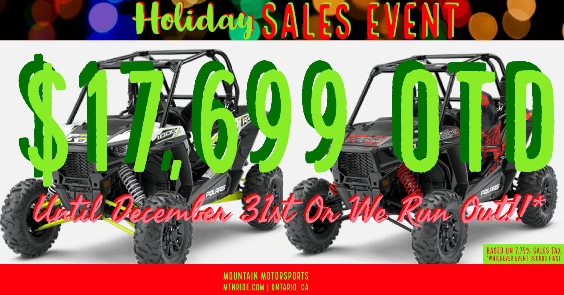 2017 Polaris RZR XP 1000 EPS for sale 72122