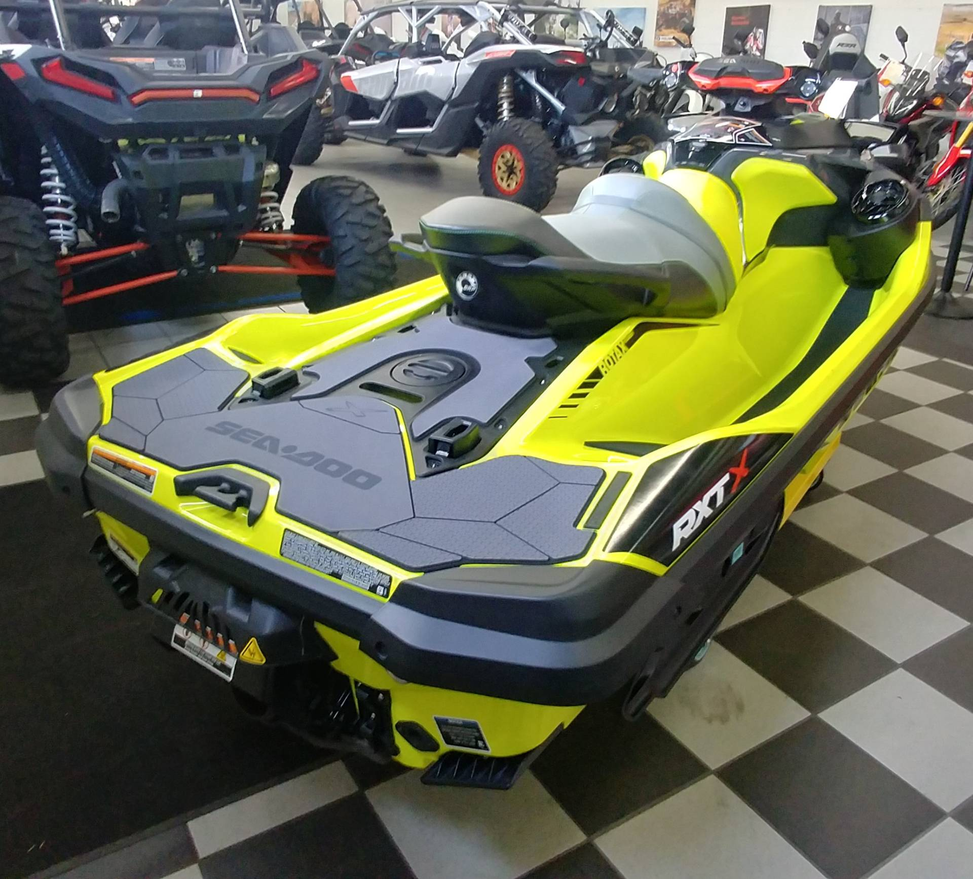 2019 Sea-Doo RXT-X 300 iBR + Sound System in Ontario, California - Photo 6