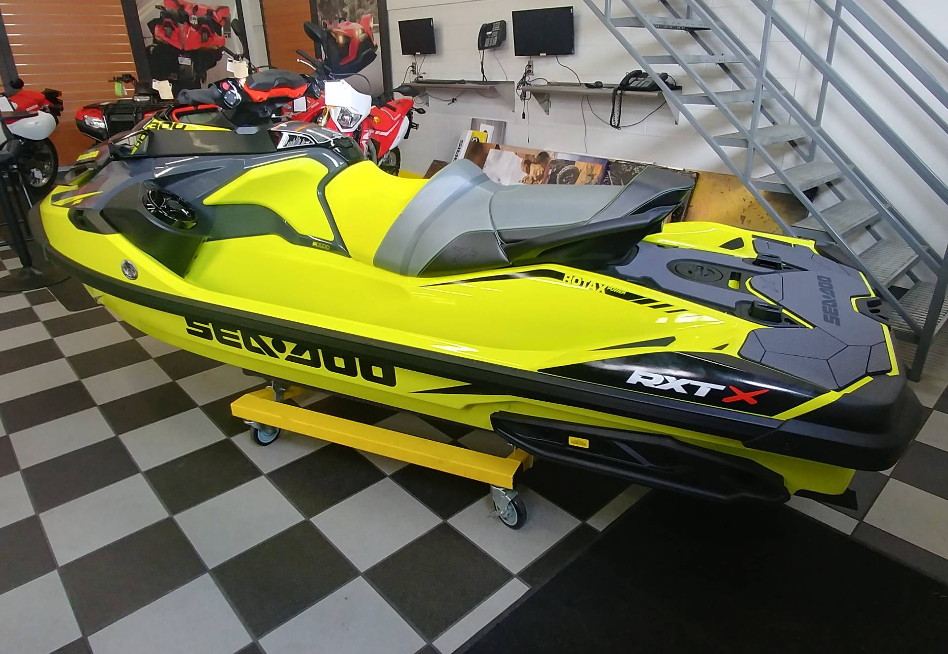 2019 Sea-Doo RXT-X 300 iBR + Sound System in Ontario, California - Photo 7