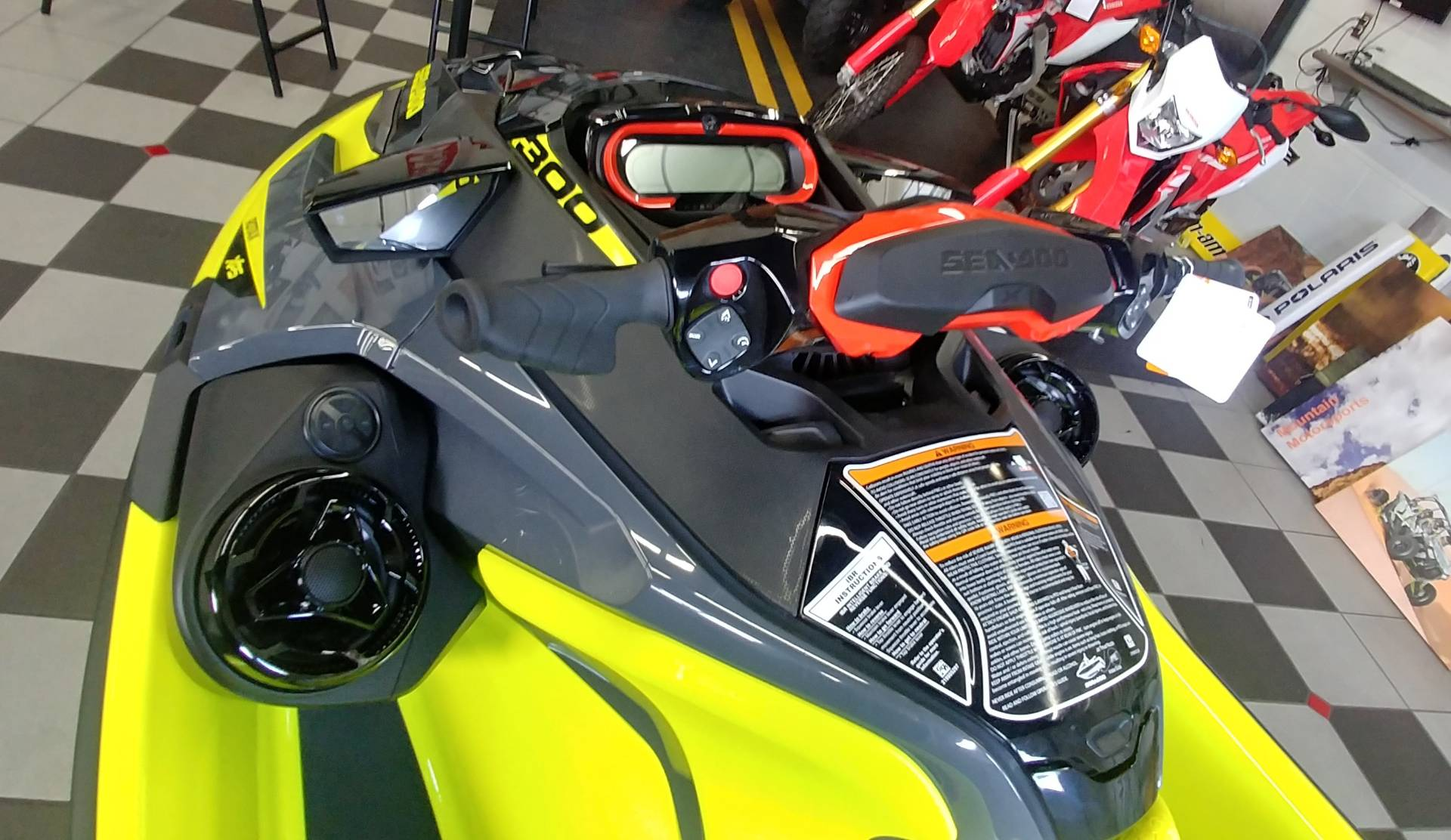 2019 Sea-Doo RXT-X 300 iBR + Sound System in Ontario, California - Photo 8