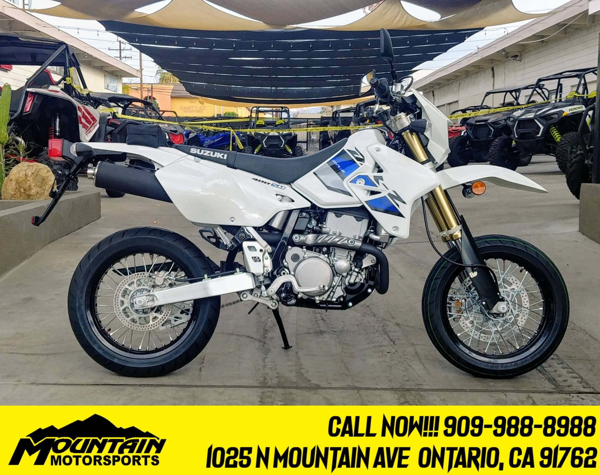 2021 Suzuki DR-Z400SM in Ontario, California - Photo 1