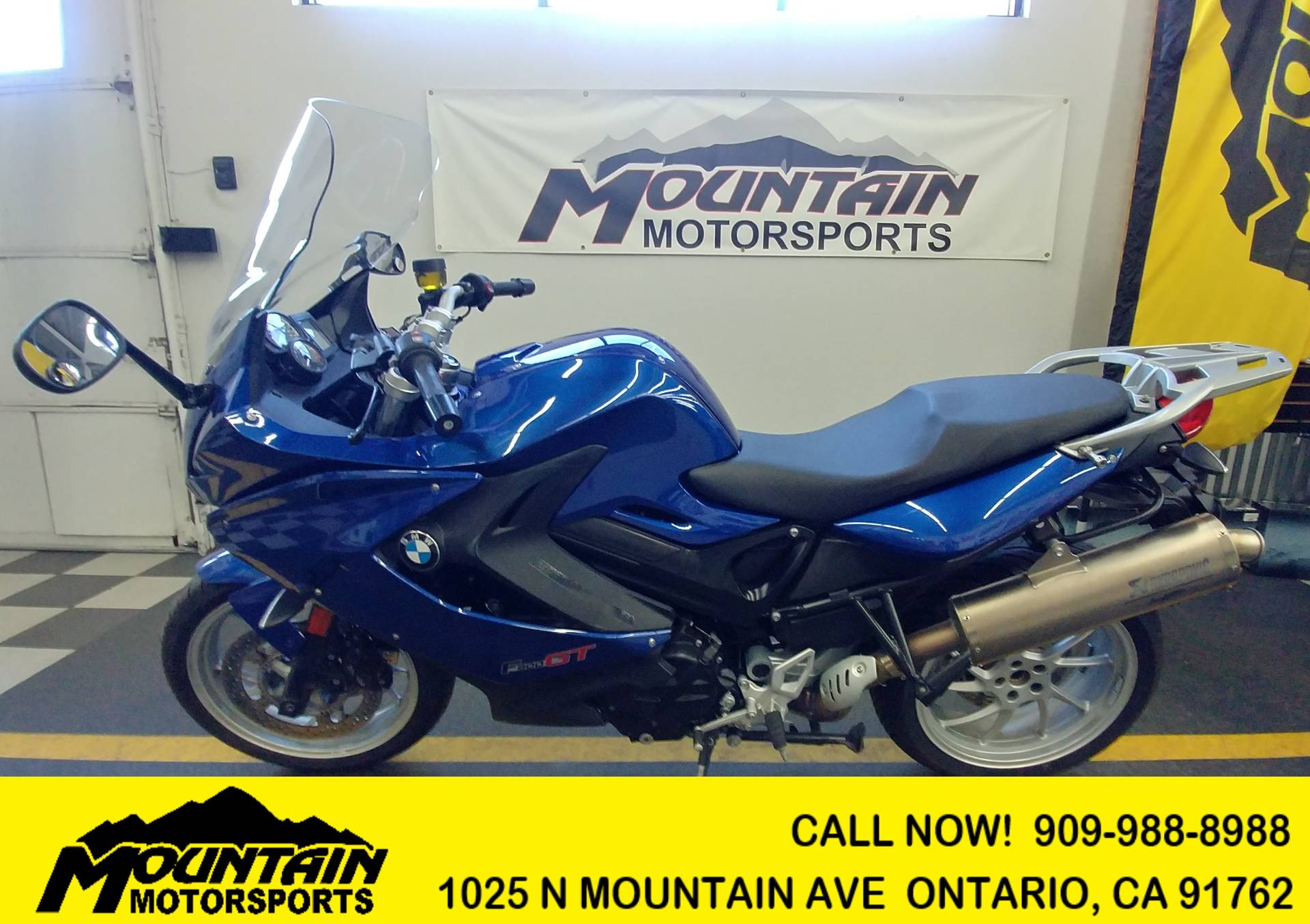 Used 2015 Bmw F 800 Gt Motorcycles In Ontario Ca Uu18252 Montego
