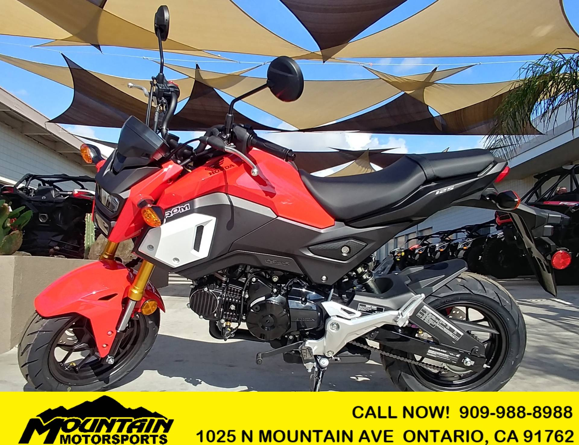2019 Honda Grom in Ontario, California - Photo 1
