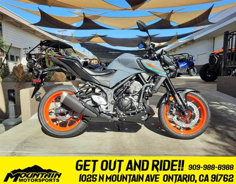 2021 Yamaha MT-03 in Ontario, California - Photo 1