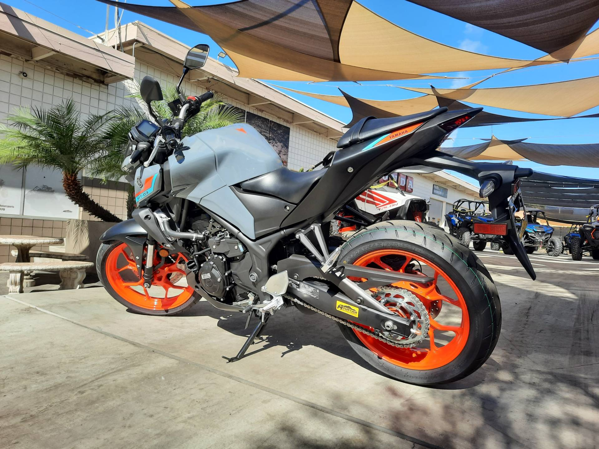 2021 Yamaha MT-03 in Ontario, California - Photo 4