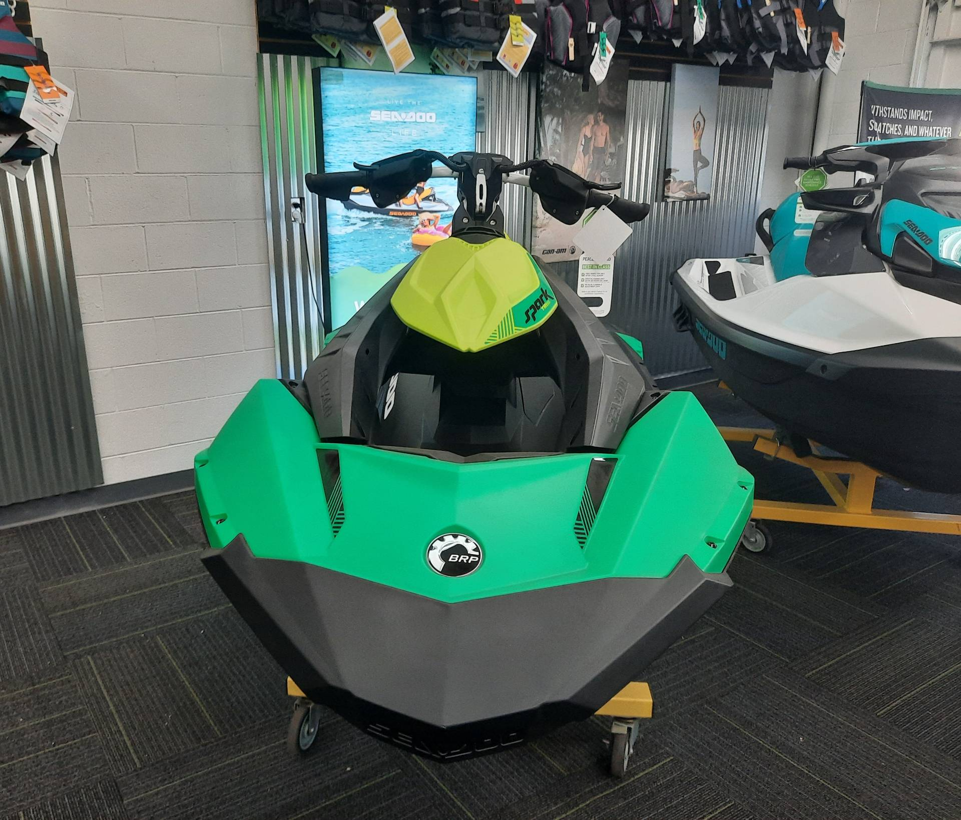 2021 Sea-Doo Spark Trixx 3up iBR in Ontario, California - Photo 2