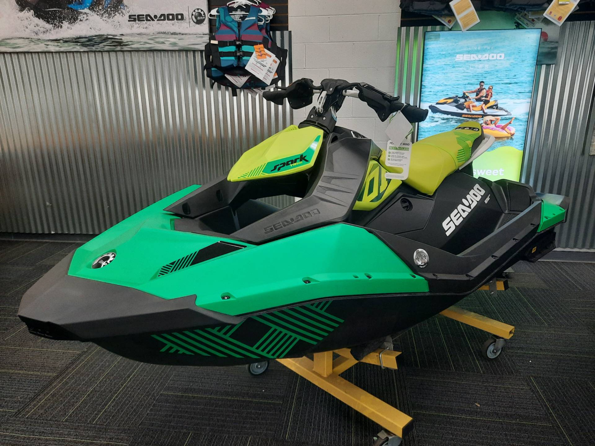 2021 Sea-Doo Spark Trixx 3up iBR in Ontario, California - Photo 3