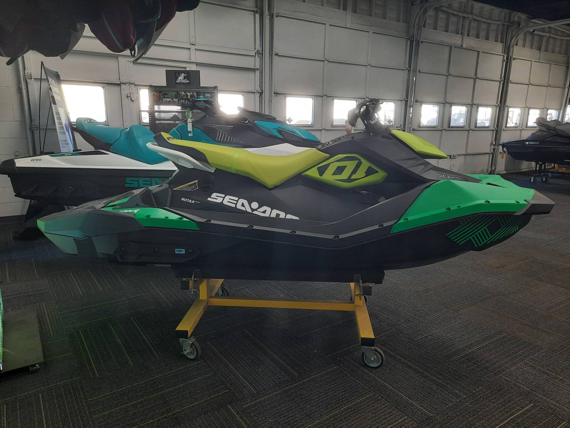 2021 Sea-Doo Spark Trixx 3up iBR in Ontario, California - Photo 11