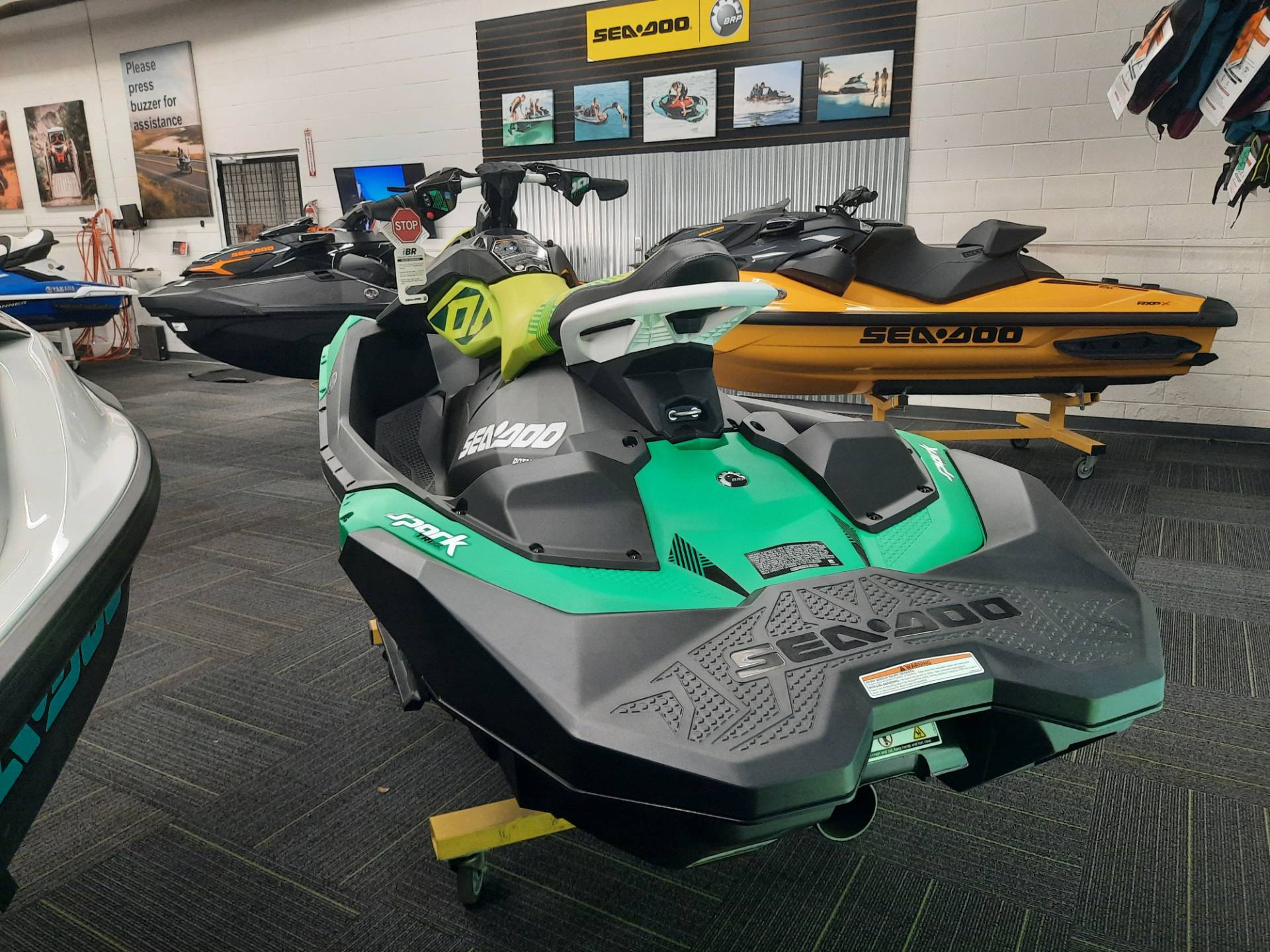2021 Sea-Doo Spark Trixx 3up iBR in Ontario, California - Photo 9