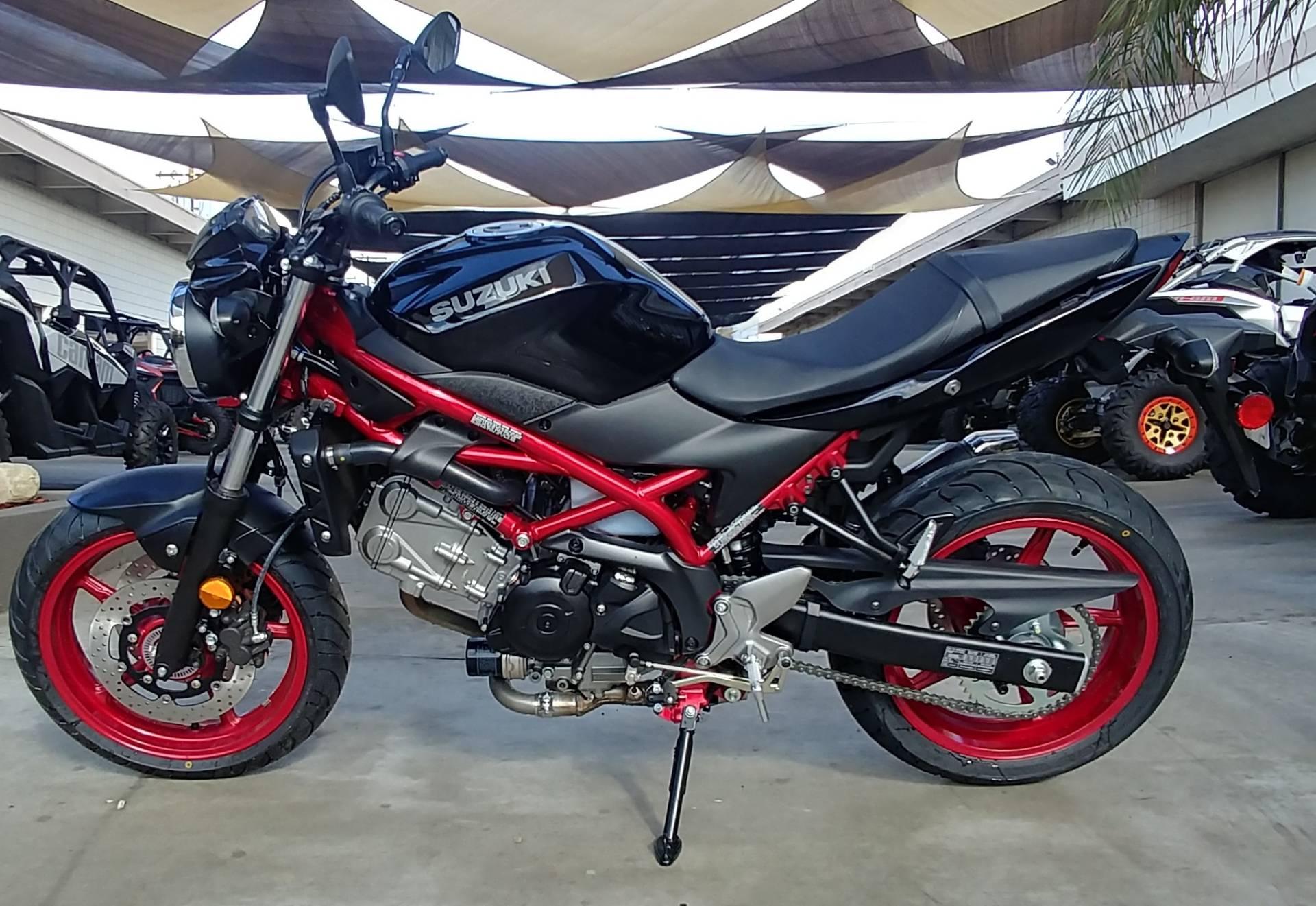 2018 Suzuki SV650 1