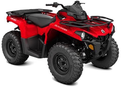 2018 Can-Am Outlander 570 in Ontario, California
