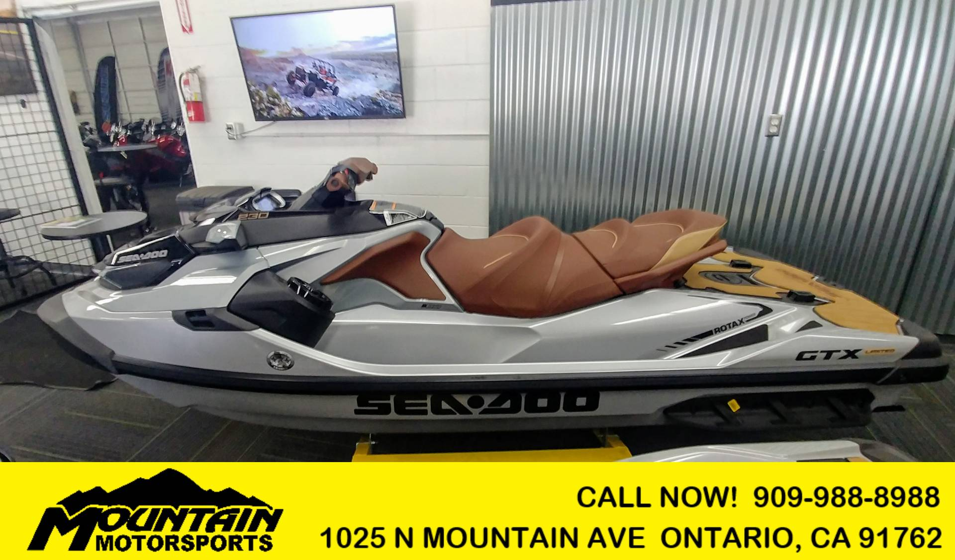 2019 Sea-Doo GTX Limited 230 + Sound System in Ontario, California - Photo 1