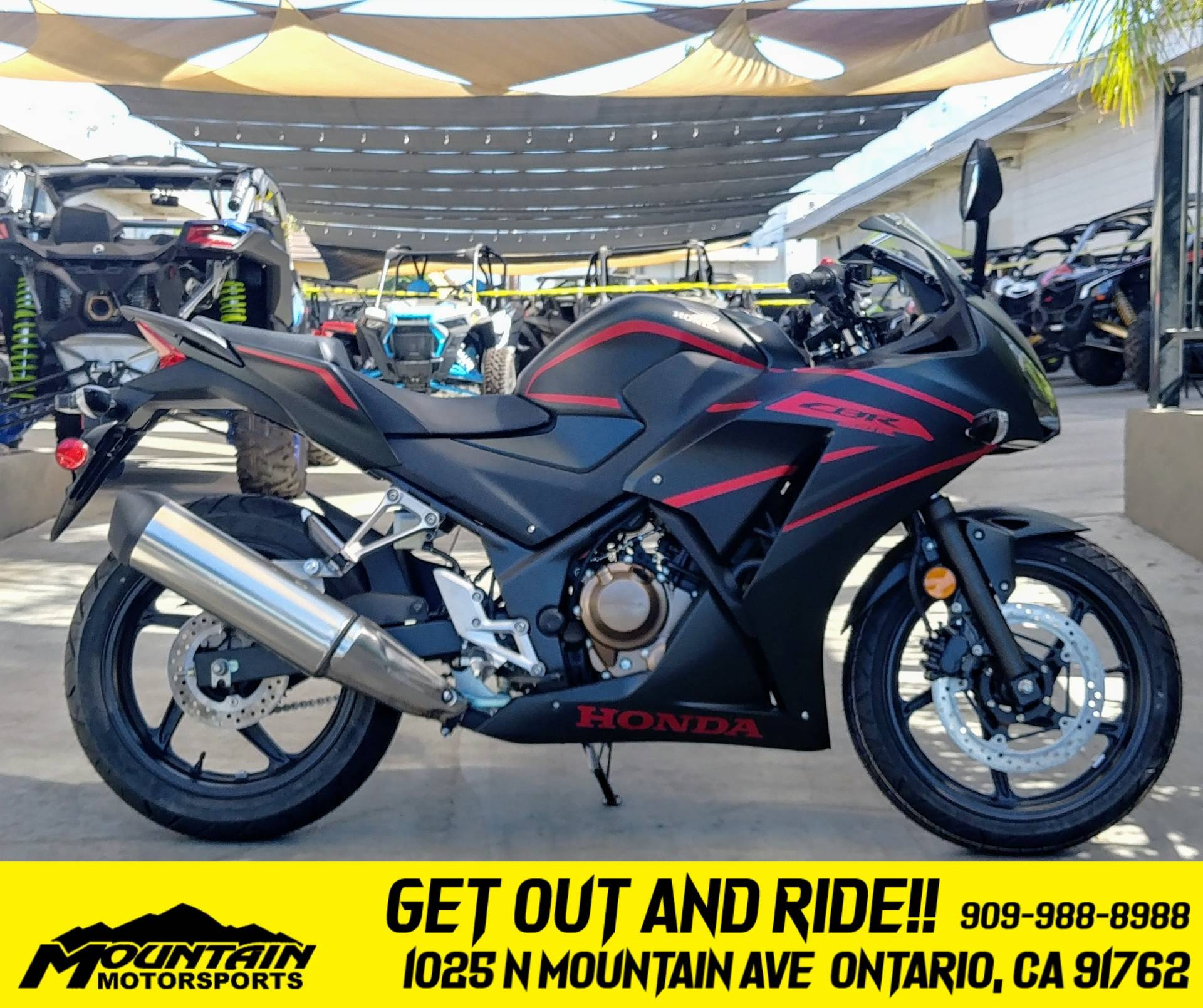 2020 Honda CBR300R in Ontario, California - Photo 1