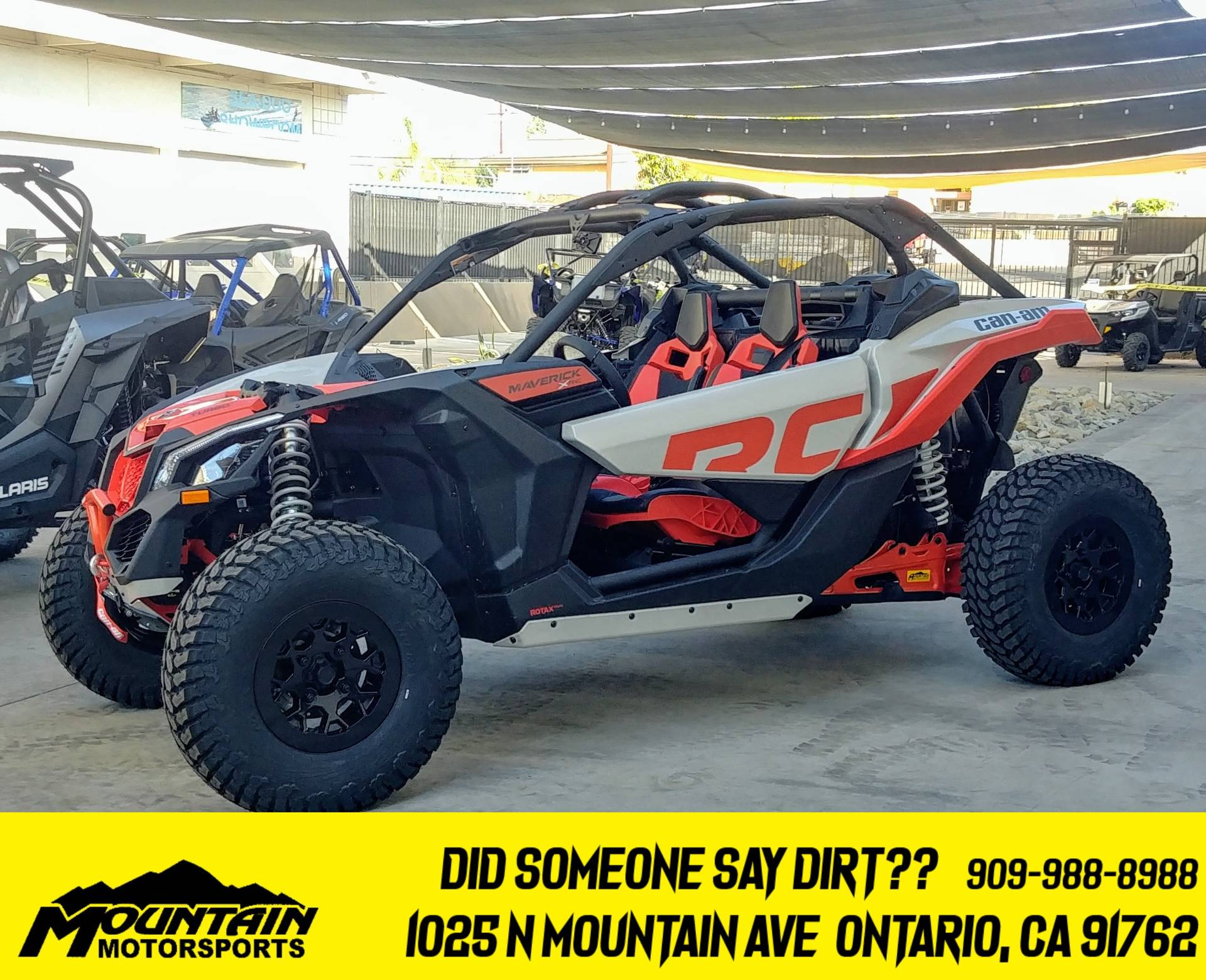 2021 Can-Am Maverick X3 X RC Turbo in Ontario, California - Photo 1