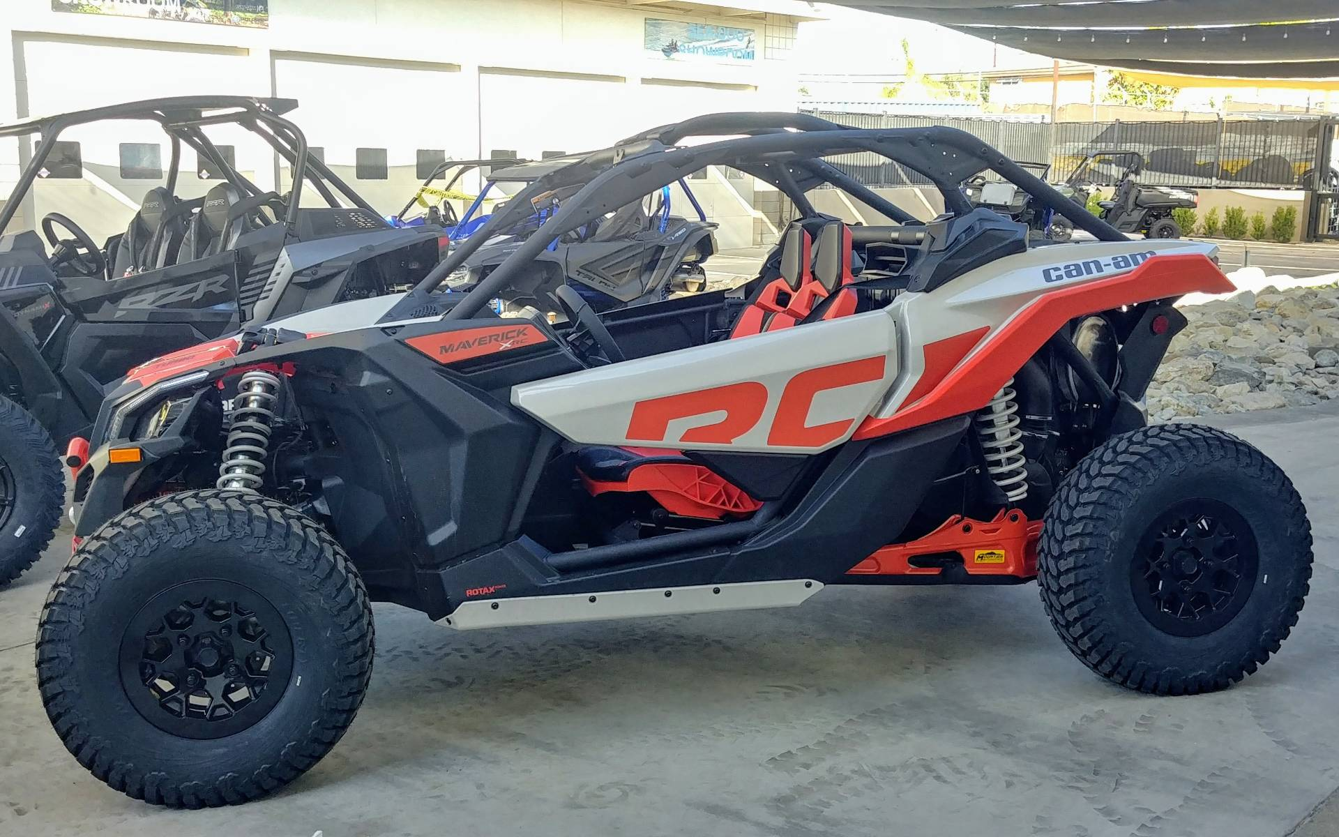 2021 Can-Am Maverick X3 X RC Turbo in Ontario, California - Photo 4