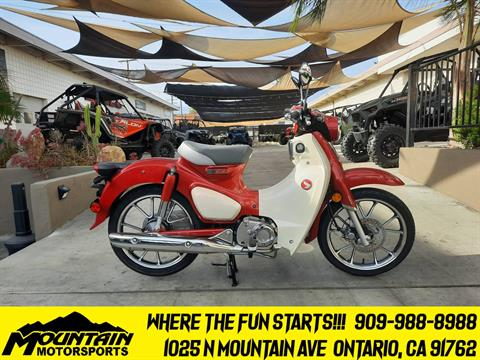 2021 Honda Super Cub C125 ABS in Ontario, California - Photo 1