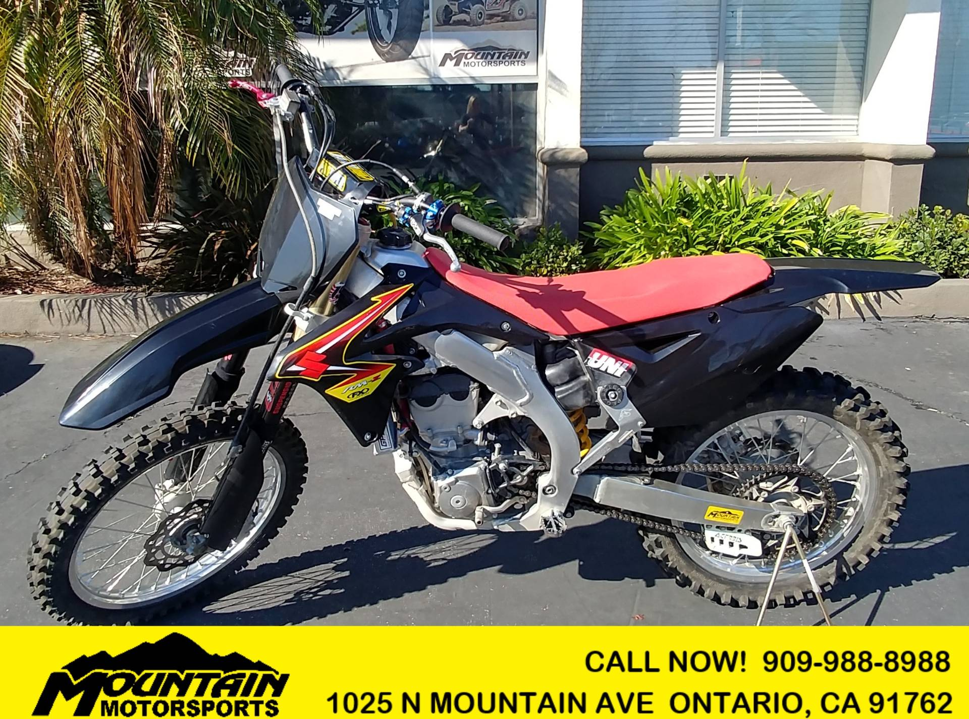 2013 Suzuki RM-Z450 in Ontario, California - Photo 1