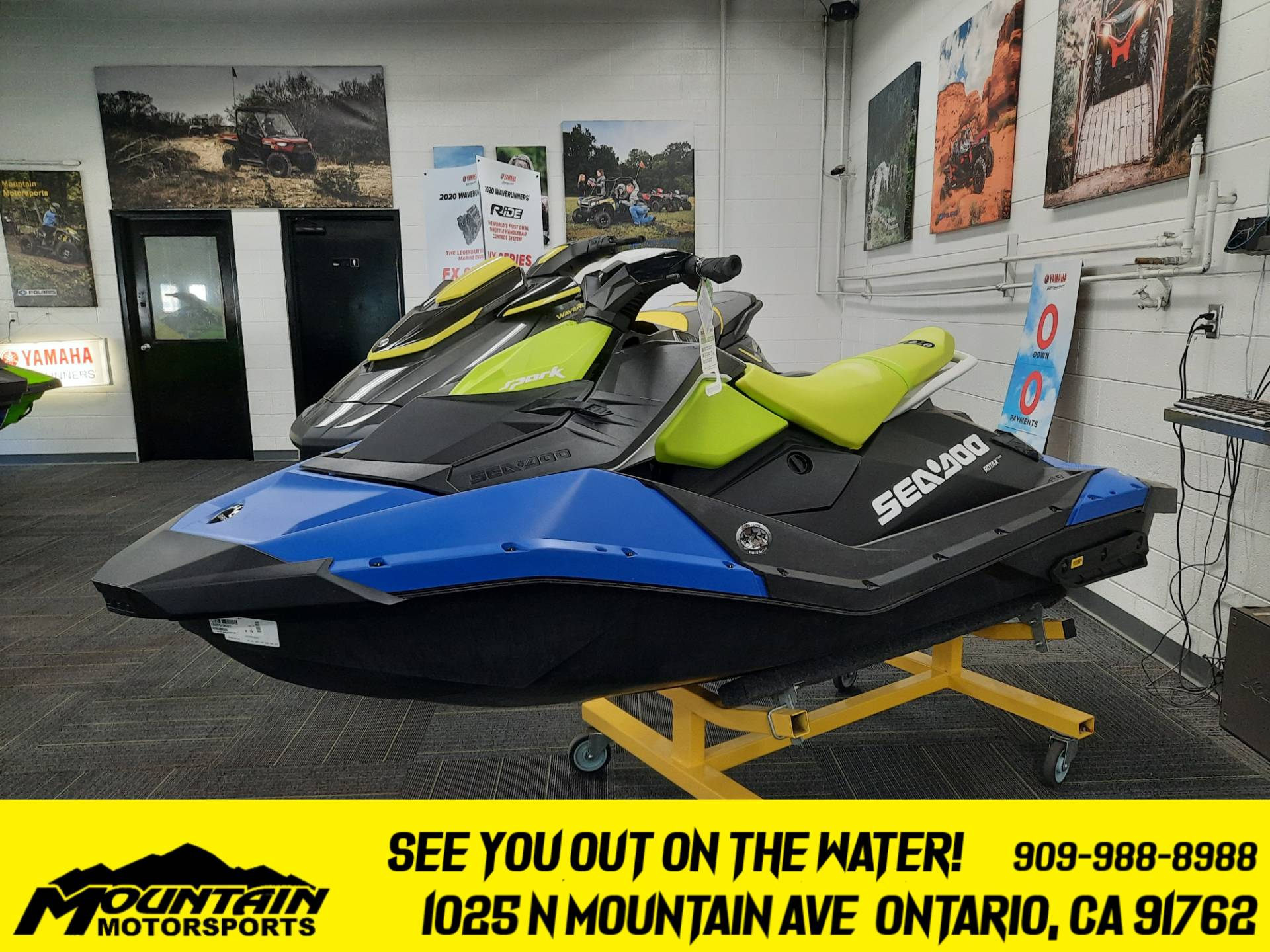 2021 Sea-Doo Spark 2up 90 hp iBR + Convenience Package in Ontario, California - Photo 1