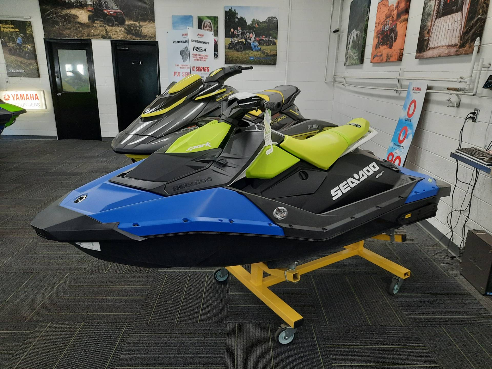 2021 Sea-Doo Spark 2up 90 hp iBR + Convenience Package in Ontario, California - Photo 5
