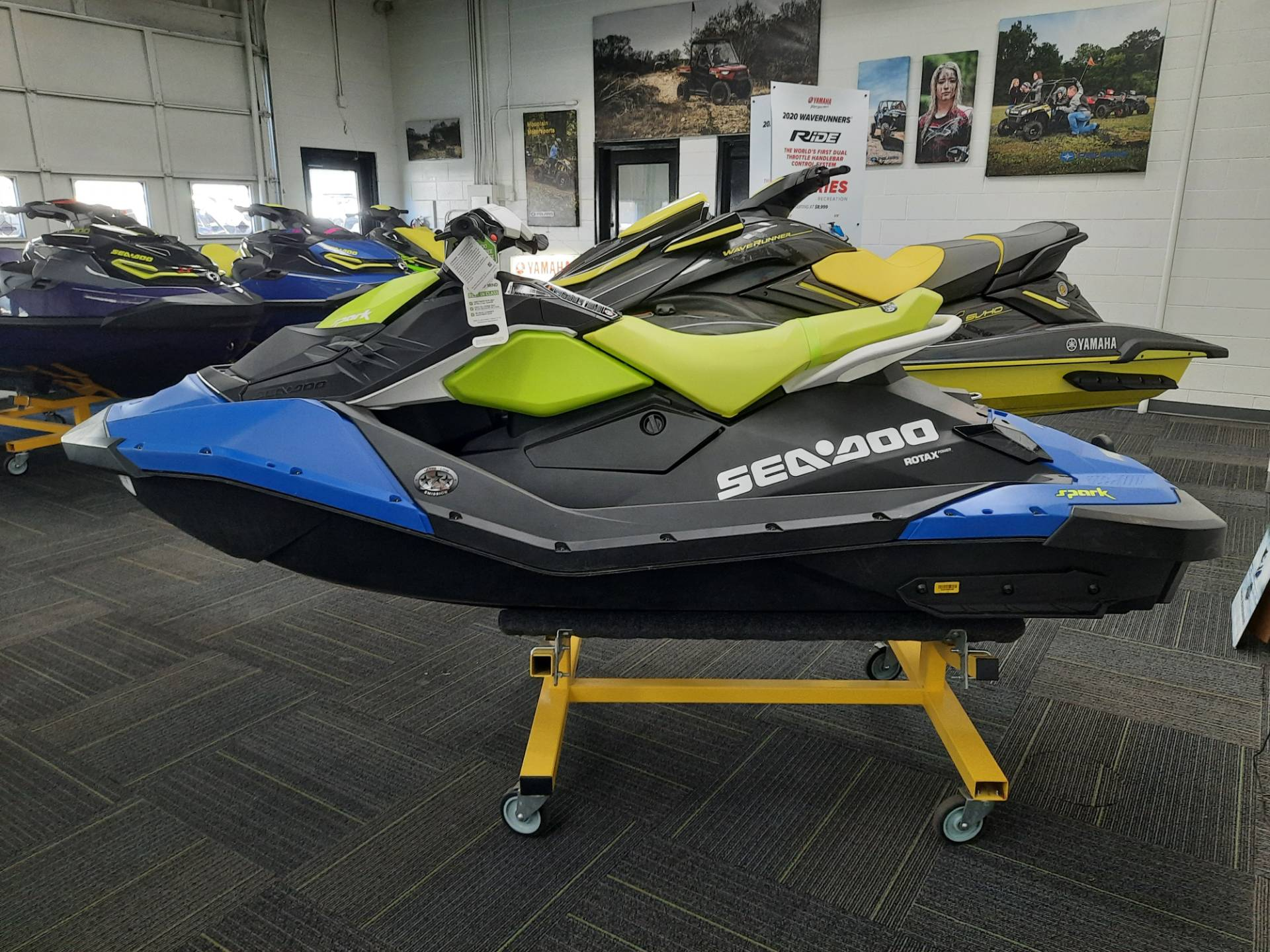 2021 Sea-Doo Spark 2up 90 hp iBR + Convenience Package in Ontario, California - Photo 8