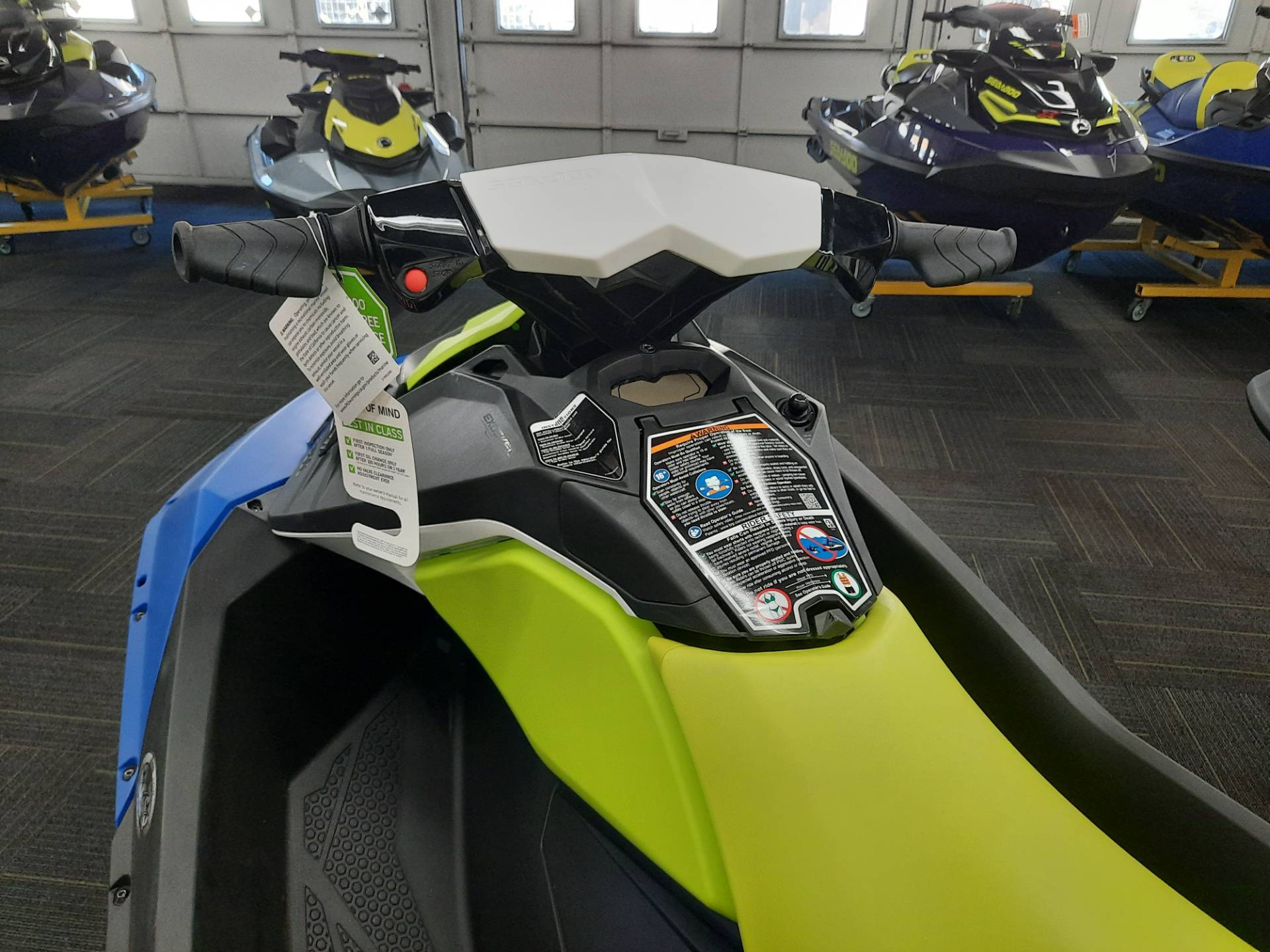 2021 Sea-Doo Spark 2up 90 hp iBR + Convenience Package in Ontario, California - Photo 9