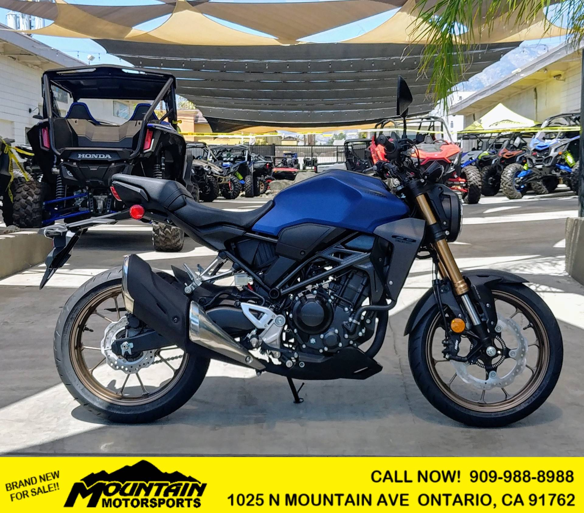 2021 Honda CB300R ABS in Ontario, California - Photo 1