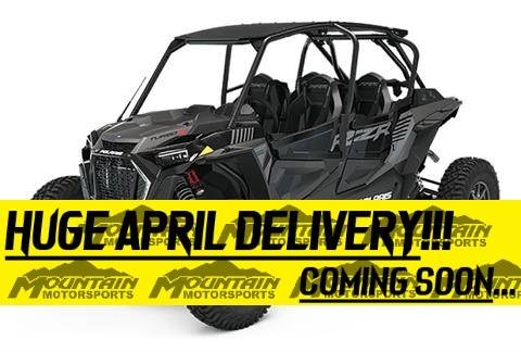 2021 Polaris RZR Turbo S 4 in Ontario, California - Photo 1