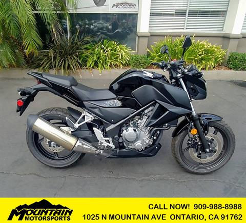 2016 Honda CB300F in Ontario, California