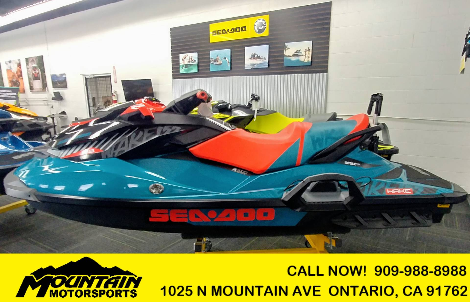 2018 Sea-Doo WAKE 155 For Sale Ontario, CA : 5589